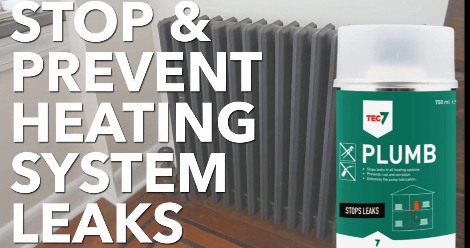 Tec7 Plumb – Stops & Prevents Heating System Leaks